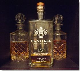 Review of Bastille whisky from France