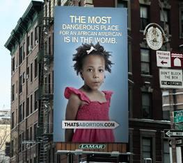 Anti-abortion billboard