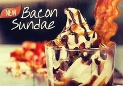 Bacon Sundae from Burger King