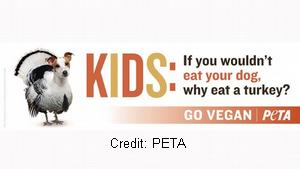 PETA to kids: Eat your dog for Thanksgiving