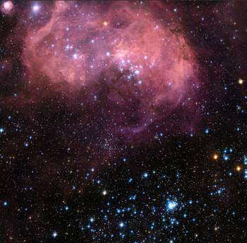 Large Magellanic Cloud Psalm 8